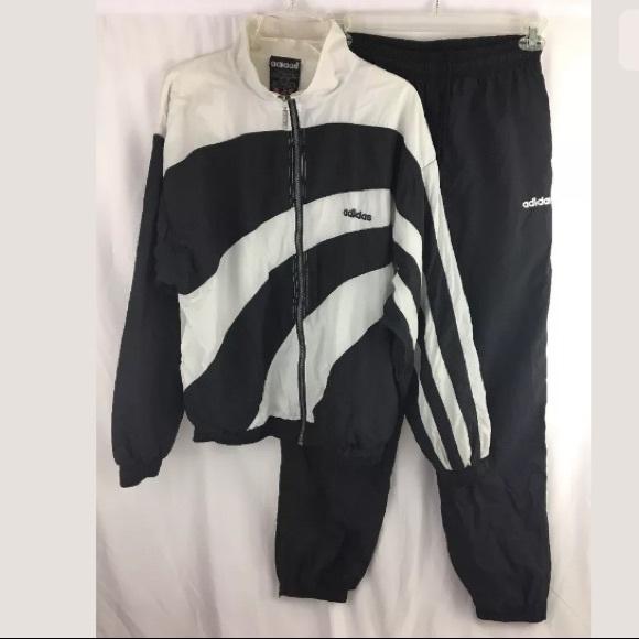 942a9bf810f93 adidas Other - Vintage Adidas Windbreaker Jacket pants tracksuit
